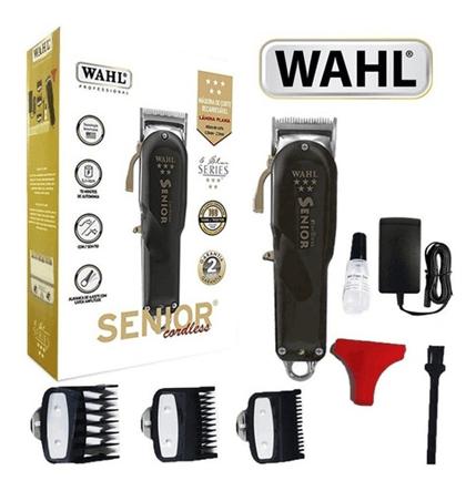 melhor máquina de cortar cabelo wahl senior cordless - Blog Forcetech