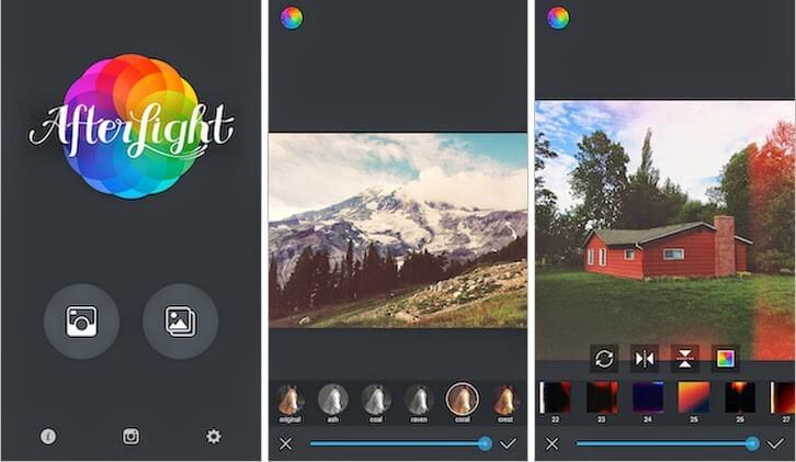 Afterlight aplicativo de edição de foto - Blog Forcetech