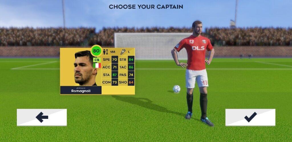 Dream League Soccer jogo de futebol para android