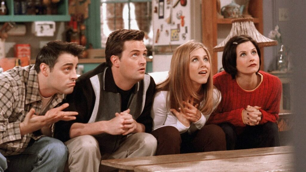 Melhores séries de comédia: Friends