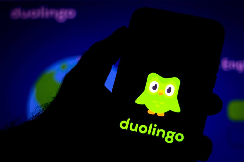 aplicativo para aprender ingles Duolingo